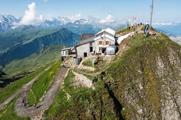 Faulhorn 2700 meter set oppefra